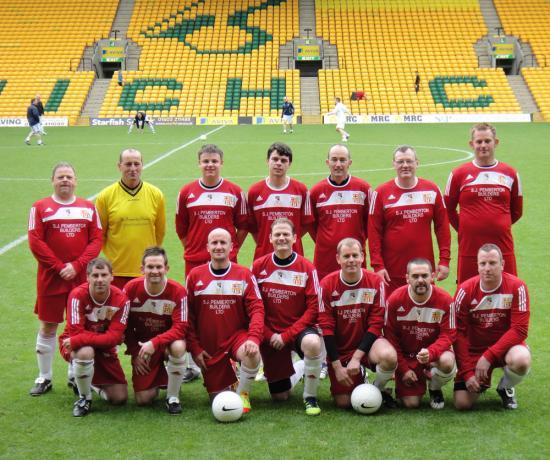 Reffley coaches and parents charity tournament at Carrow Road, May 2012